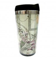 "Travel mug ""Toujours Provence"" shabby chic (H 18 cm)"